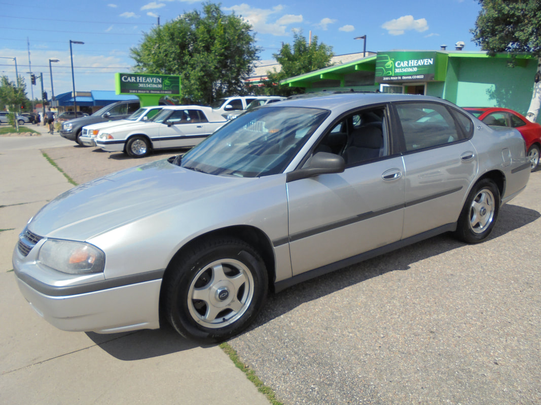 2005 Chevy Impala 303 547 06302110 Sholly Stdenverco 80222